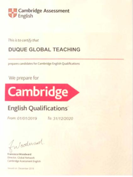 Aprobar el First Certificate